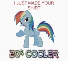 Rainbow Dash Likes This Shirt by Joshua Merewether