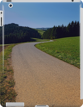 Country road through rural scenery II | landscape photography by Patrick Jobst