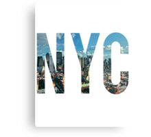 NEW YORK CITY. Metal Print