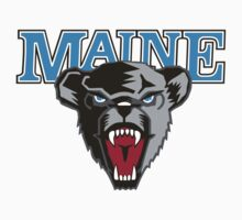 "College University ""Maine Blackbears"" Sports Baseball Basketball Football Hockey by artkrannie"