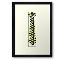 The Ducky Tie HIMYM Framed Print