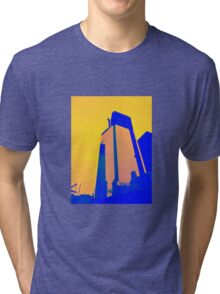 Blue Building Tri-blend T-Shirt