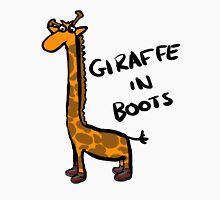 Giraffe In Boots Unisex T-Shirt