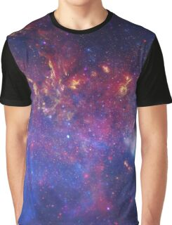 Center of the Milky Way Galaxy Graphic T-Shirt