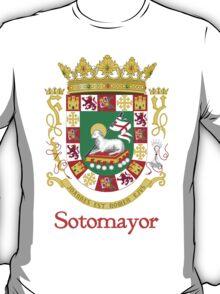 Sotomayor Shield of Puerto Rico T-Shirt