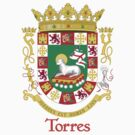 Torres Shield of Puerto Rico by William Martin