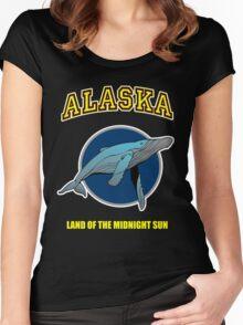 Alaska Midnight Sun Women's Fitted Scoop T-Shirt
