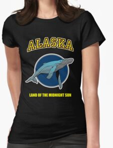Alaska Midnight Sun Womens Fitted T-Shirt