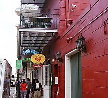 New Orleans Restaurant by Frank Romeo