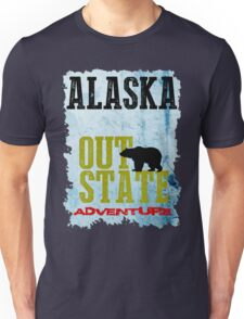 Alaska Out State Adventures Unisex T-Shirt