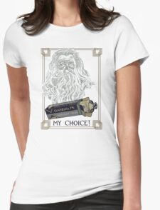 GANDALF'S RAPID-SHAVE CREAM Womens Fitted T-Shirt