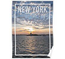 NEW YORK FRAME Poster