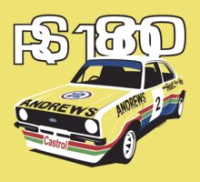 Ford Escort Mk2 Rally Car Kids Clothes