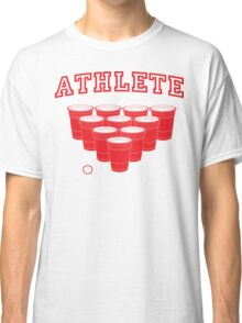 Beer Pong Athlete Classic T-Shirt