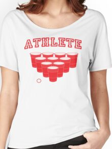 Beer Pong Athlete Women's Relaxed Fit T-Shirt