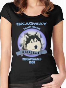 Skagway Alaska Women's Fitted Scoop T-Shirt