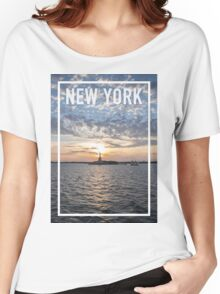 NEW YORK FRAME Women's Relaxed Fit T-Shirt