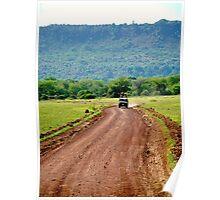 Jeep Safari Poster