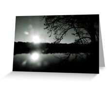 Haunting Silhouette  Greeting Card