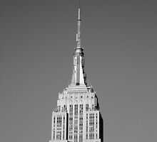 Empire State Building, New York City, Shreve, Lamb and Harmon by Crystal Clyburn