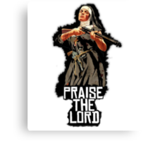 Red Dead Redemption - Mother Superior Blues Canvas Print