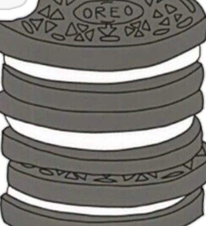 stack of Oreos Sticker