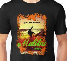 Malibu Beach Surfer Unisex T-Shirt