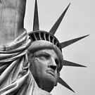 Statue of Liberty Detail, Liberty Island, New York City by Crystal Clyburn