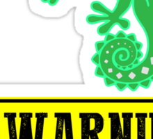 Warning Offensive Sticker