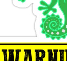Warning Offensive Sticker