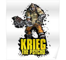 Borderlands 2 - Krieg The Psycho Poster
