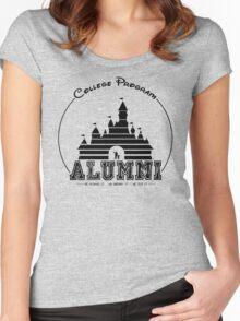 DCP Alumni - Black Women's Fitted Scoop T-Shirt