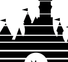 DCP Alumni - Black Sticker