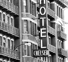 Chelsea Hotel, New York City by Crystal Clyburn
