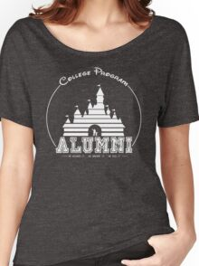 DCP Alumni - White Women's Relaxed Fit T-Shirt