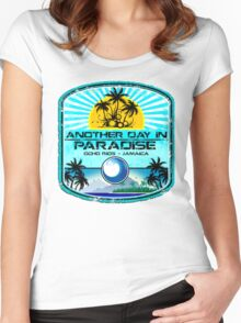 OchoRios Blue Romance Women's Fitted Scoop T-Shirt