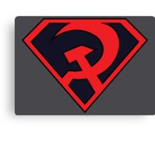 Red Son - Superman Canvas Print