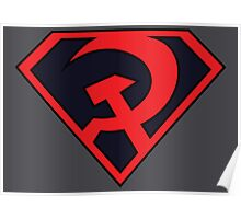 Red Son - Superman Poster