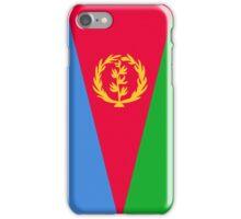 Eritrea Flag Banner iPhone Case/Skin