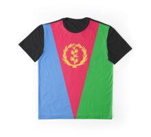 Eritrea Flag Banner Graphic T-Shirt