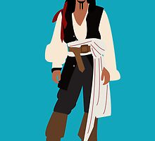Captain Jack Sparrow by nimbusnought