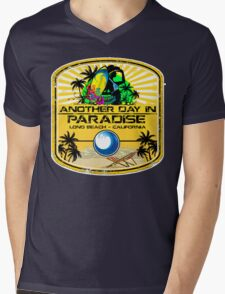 Long Beach Surfer Paradise Mens V-Neck T-Shirt