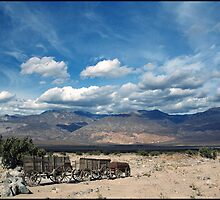 Death Valley from Wildrose Pass by ten2eight