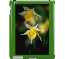 wild daffodils iPad Case/Skin