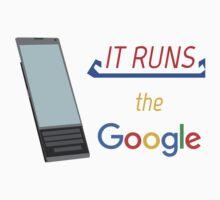 """It Runs the """"Google"""" Baby Tee"""