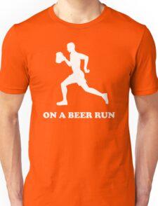 On a Beer Run Unisex T-Shirt