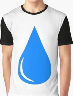 Water Droplet Graphic T-Shirt