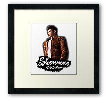 Shenmue - Ryo Hazuki Framed Print
