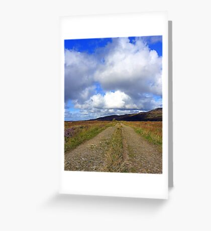 The Irish Bog Road Greeting Card