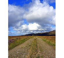 The Irish Bog Road Photographic Print